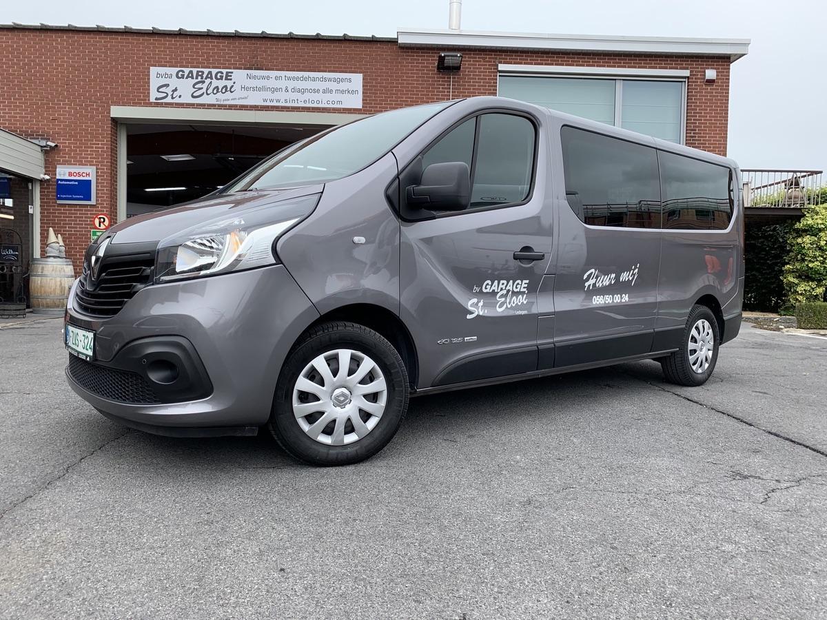 Renault Traffic 9 pers minibus te huur